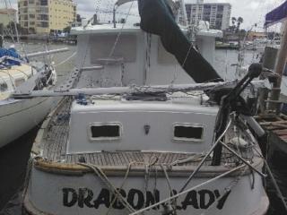 boat damaged by irma 2017