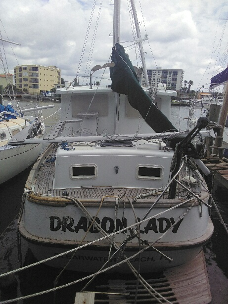 boat damaged by irma 2017