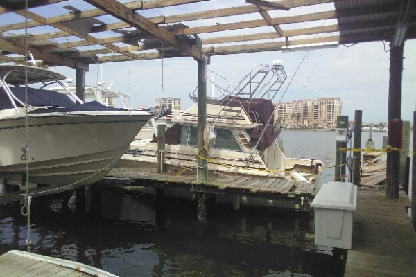 irma boat damage